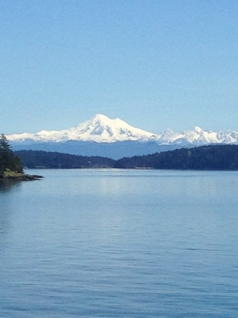 MtBaker from Ferry